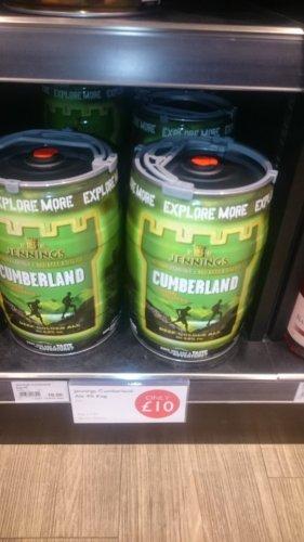 Cumberland Ale 5 ltr keg £10 @ Booths
