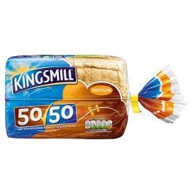 Kingsmill 50/50 Medium Small Loaf 2 FOR £1 @ ASDA