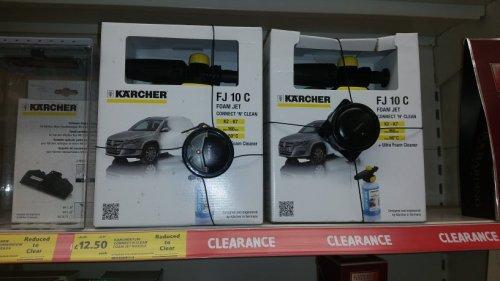 Karcher FJ10C Ultra Foam Jet £12.50 @ Tesco