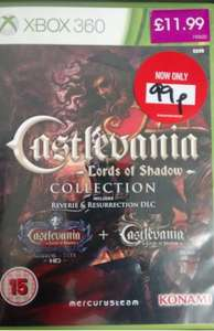 Castlevania Lords of Shadow Collection Xbox 360 £0.99! (includes DLC and Mirror Of Fate codes) Instore @ Game
