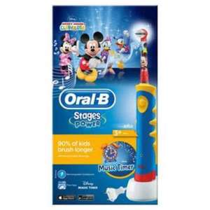 Oral B Mickey Mouse Magic Timer Electric Toothbrush Years 3+ Reduced From £44.99 now £17.50 @ Superdrug