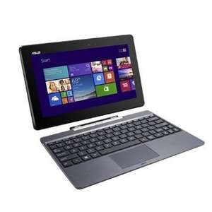 ASUS Transformer Book T100TAF-BING-DK024B 10.1 inch IPS Convertible Laptop - includes keyboard - (Quad core Intel Z3735 1.33 GHz, 2 GB RAM, 32 GB eMMC, Windows 8.1 with Free Windows 10 Upgrade) £129.99 incl free delivery at Amazon