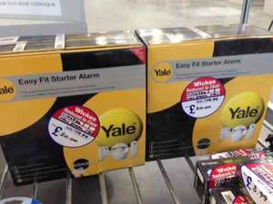 Yale easy starter alarm kit, was £79.99 now £20 @ Wickes instore