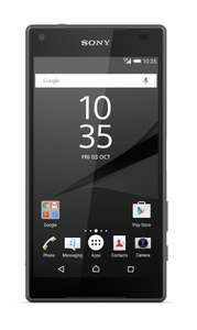 Sony Xperia Z5 Compact SIM-Free Smartphone (UK Version) - Graphite Black  £302 Sold by SILVERLINETRADING and Fulfilled by Amazon.