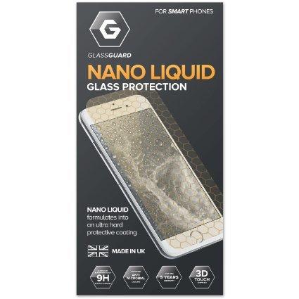 Glass-Guard Invisible NANO LIQUID Screen Protector for Smart Phone (iPhone 6S, Samsung Galaxy S7 Edge, Samsung Galaxy S7, Samsung Galaxy S6, Nexus 5X, Nexus 6P, Sony Xperia Z5) - £12.99 (Prime) £16.98 (Non Prime) @ Amazon