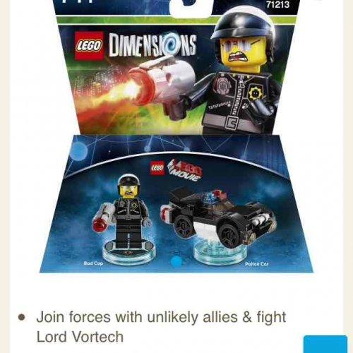 Tesco 3 for 2 Lego Dimensions fun packs