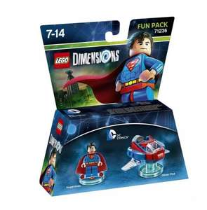 Lego Dimensions Superman & Aquaman both delivered for £17.02 - Amazon USA