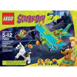 Lego Scooby Doo Mystery Plane Amazon for £13.14 (Prime) (or £17.13 non-Prime)