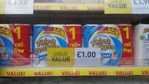 Thirst Pockets 3 rolls for £1 at semi-chem