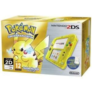 Pokemon Yellow Nintendo 2DS Limited edition, In stock £79.99 at Argos + Free £5 Voucher