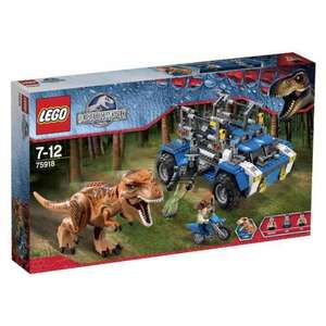 LEGO Jurassic World 75918: T-Rex Tracker £43.43 at Amazon (was £59.99)