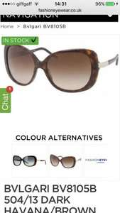 Bvlgari designer sunglasses £94.16 with code @ Fashion Eyewear
