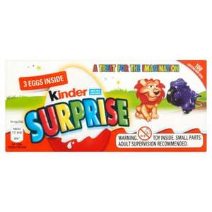 3 Kinder surprise £1.47 @ Morrisons