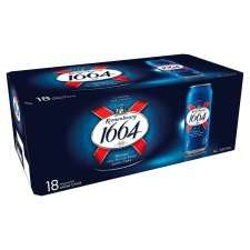 18 x 440ml Cans of  Kronenbourg and other big packs - 2 for £20 at Tesco