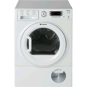Hotpoint SUTCD97B6P 9kg Ultima S-Line White Condenser Tumble Dryer £239.99 @ Hotpoint Clearance