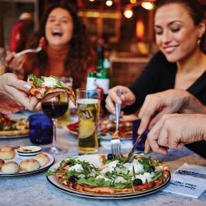 Pizza express £5 pizza/pasta/salad with o2 priority