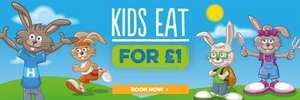 Kids Eat for £1 (with an adult main) at Harvester