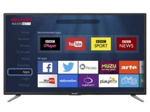 Sharp 43 Inch LC-43CFE6131K Smart Full HD 1080p LED TV with Freeview HD £269 at Tesco Direct (Free Delivery)