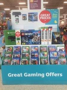 Great Gaming Offers @ Sainsburys instore. From Rainbow Six, Lego Dimensions and many more...