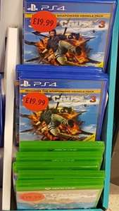 Just Cause 3 Instore PS4/XB1 £19.99 @ Sainsburys