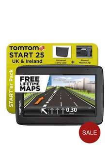 TomTom 25 with Starter pack £89.99 @ Very
