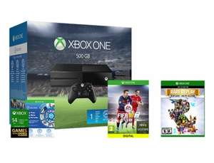 Xbox One Console 500GB Inc FIFA 16 + Rare Replay Collection + NowTV 3 months Ent Pass £229.99 @ eBay / Shopto (**NOW LIVE**)