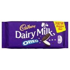 Cadbury Dairy Milk Oreo 185g bar £1.00 RTC at Tesco