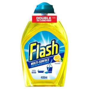 Flash Liquid Gel Cleaner Lemon 400ml 66p Tesco Birmingham New Street