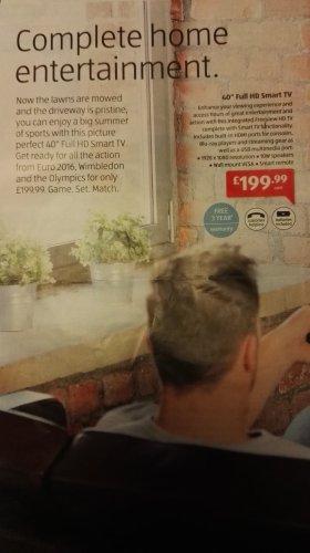 """Bauhn 40"""" 1080p Smart TV £199.99 @ ALDI from 31/03/16"""