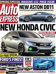 6 Issues of Auto Express + Free Gift Worth £20 (G3 Pro Set) For £1 @ Dennis Publishing