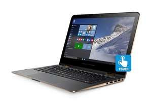 HP Spectre X360 13-4103na Intel Core i5, 4GB RAM, 256GB SSD, 13.3 inch Touchscreen 2-in-1 Laptop - Black/Copper at Very for £642.06