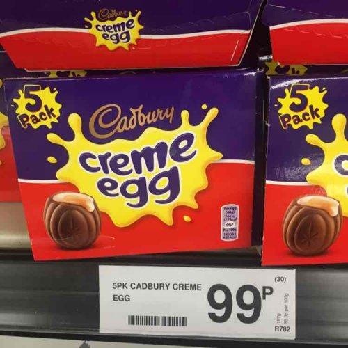 5pk creme eggs 99p @ Farmfoods