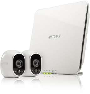 Netgear Arlo Completely Wireless CCTV System (2 Camera's + Base) £239.99 @ Amazon Prime