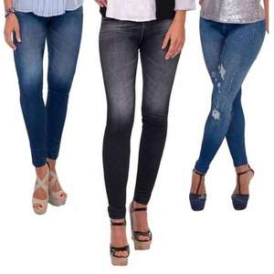 3 X THANE SLIM N LIFT CARESSE JEANS SKINNY JEGGINGS SHAPEWEAR SLIMMING CONTROL - (S/M-L/XL) £9.99 @ Ebay (pink_and_blue_gifts1)