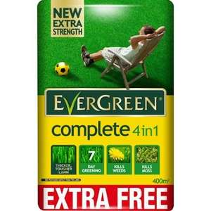 EverGreen Complete 4 in 1 Lawncare Bag 400sqm £14.98 @ Homebase