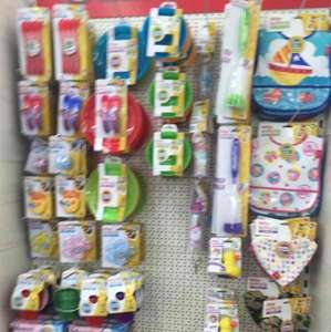 Lots of Nuby baby items in £1 Poundworld