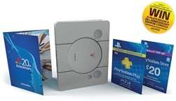 12 months PS Plus + £20 wallet top-up + Limited Edition 20th Anniversary SteelBook £35.81 from Videogamebox