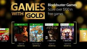 April's Games with Gold (The Wolf Among Us & Sunset Overdrive / Dead Space & Saints Row IV)