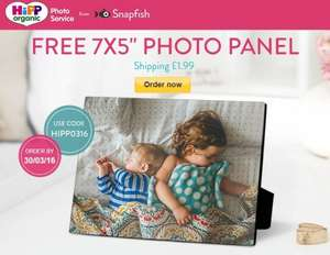 free snap fish 7x5 photoboard only pay £1.99 p&p code HIPP0316