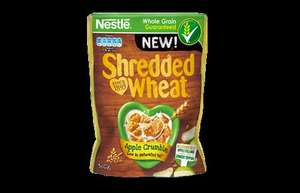 APPLE CRUMBLE SHREDDED WHEAT 50p @Asda also Cherry Bakewell Flavour.