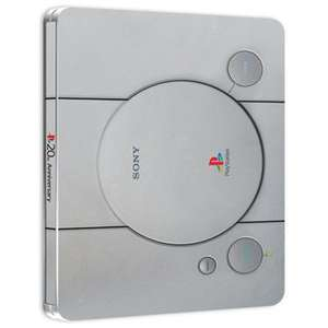 20th Anniversary PlayStation Steelbook [12 Month PS+ Sub & £20 Wallet Top Up] £37.85 @ Shopto