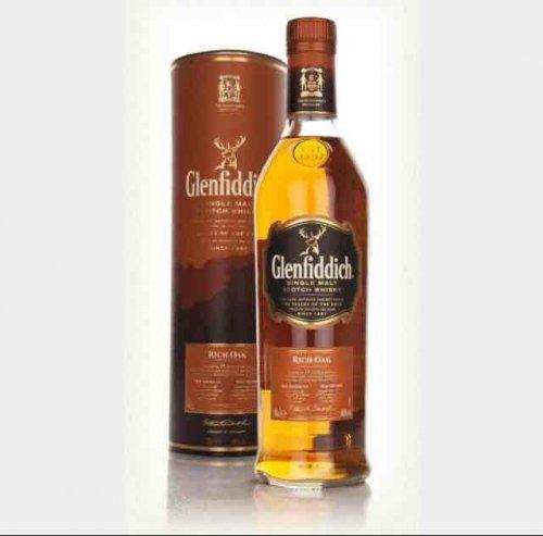 Glenfiddich rich oak single malt 70cl £15 @ asda