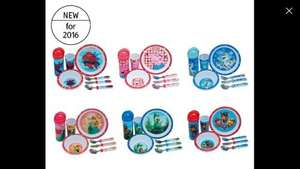 Children's Character Breakfast Sets (Paw Patrol / Spiderman / Olaf / The Good Dinosaur / Frozen / Peppa Pig at ALDI for £7.99