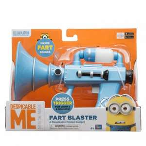 Minions Despicable Me 2 Fart Blaster only £10 Instore at Tesco