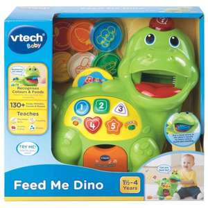 VTech Feed Me Dino only £5 Instore at Tesco