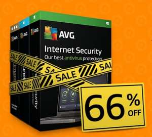 AVG Easter Offer Was £59.99   Now £19.99