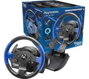 THRUSTMASTER T150 RS Steering Wheel - Black & Blue £99.99 @ Currys / PC World
