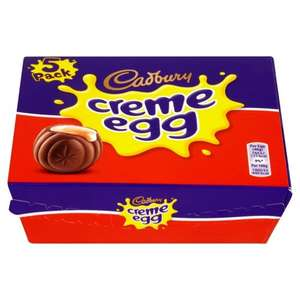 5pk Cadbury Creme Eggs - 99p at Homebargains Instore - National