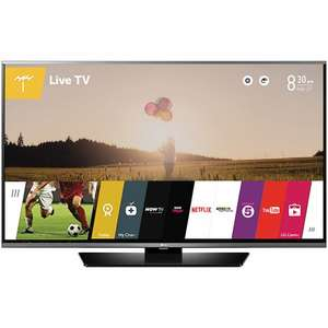 "Price dropped to £399 LG 49LF630V LED HD 1080p Smart TV, 49"" with Freeview HD and Built-In Wi-Fi at John Lewis"