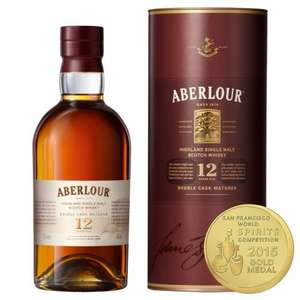 Aberlour 12 Year Old Single Malt Scotch Whisky 70cl @ Ocado